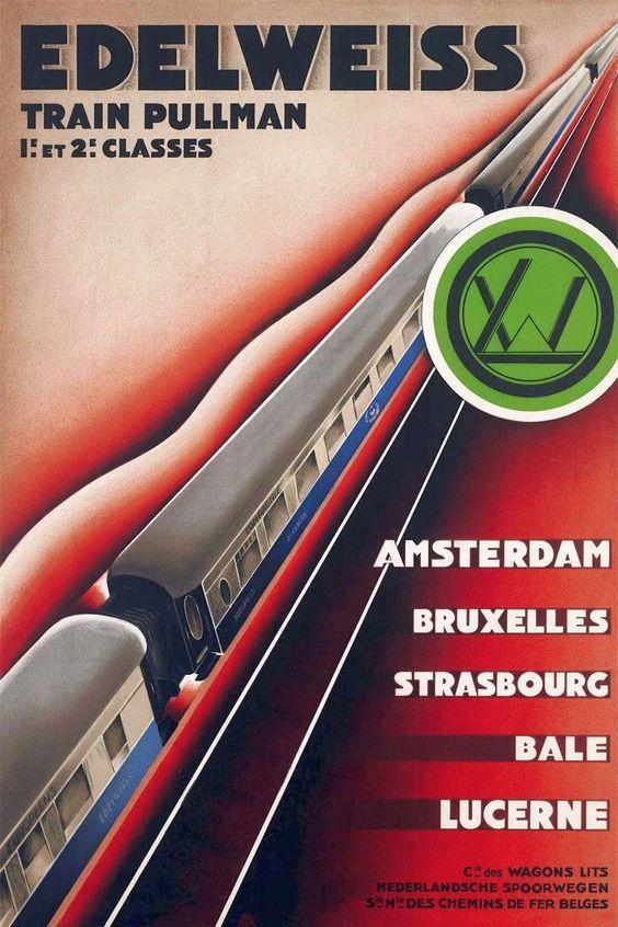 Bildergebnis für chemins de fer poster:
