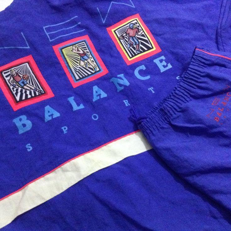 Vtg New Balance Tracksuit 80s Mens XL New #NewBalance #TracksuitsSweats