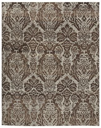 The Damask Designed Nurture Transitional Rug Will Thrive In Any Modern Or  Transitional Area It Is