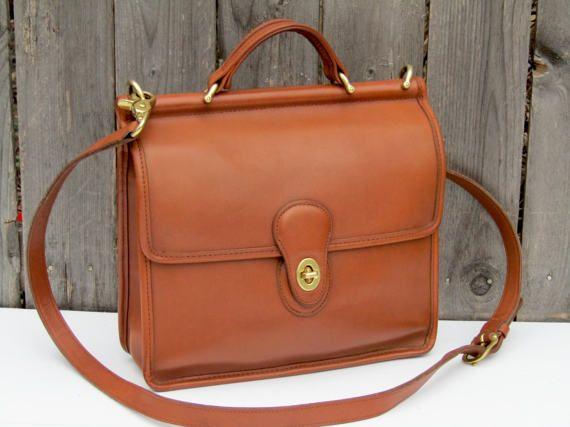 Vintage Coach Bag Willis  Coach Messenger Bag  by FeelsFree