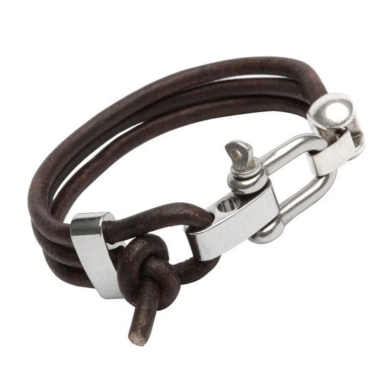 The Olimpus  Mens  Womens  Leather Bracelet  by MarcoUrsino, $68.00