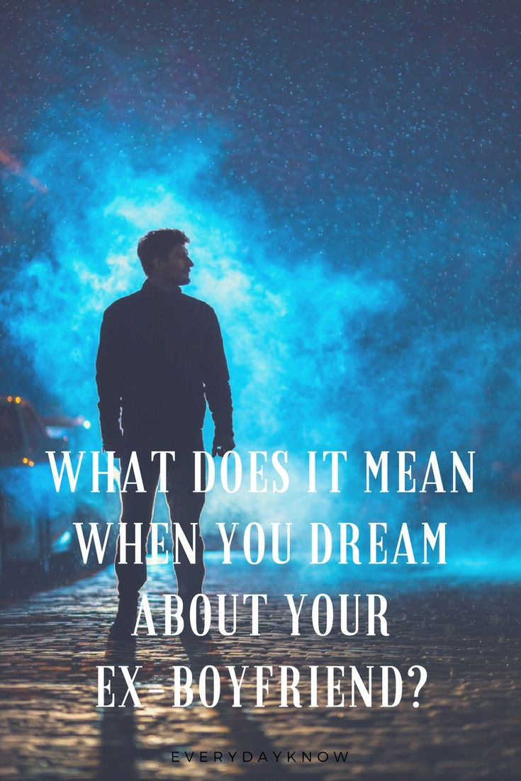 what does it mean to dream about an ex