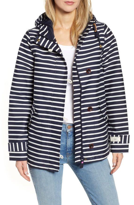 a57fe464245c Joules Coast Print Waterproof Hooded Jacket | Nordstrom | Style in ...