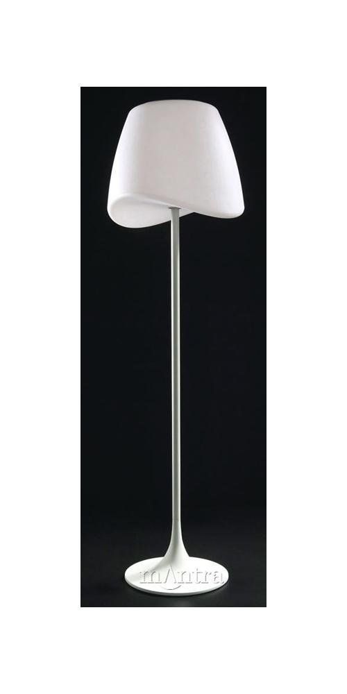 Low Energy Floor Lamps: Modern Low Energy Standing Floor Lamp whith White Shade - HP024166:  Amazon.co.,Lighting
