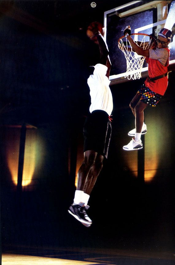 Michael Jordan + Spike Lee   Vintage Nike/Air Jordan Ads