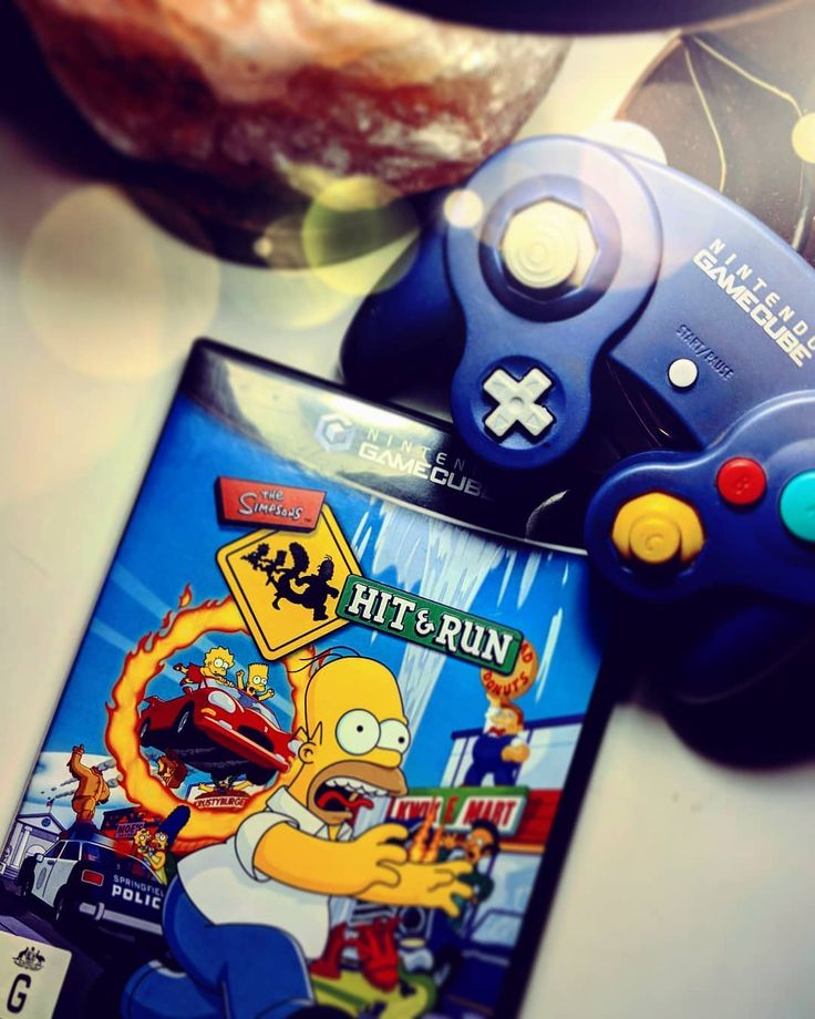 The Simpsons Hit and Run and The Simpsons Road Rage (PS2) were my go to games  . . . . . . . . . ------------------------------------------------------------- #simpsons #thesimpsons #gamecube #classic #retro #retrogaming #gaming #gamer #gamergirl #game #gamecubegame #nintendo #purple #photo #old #fun #control #controller #view #playstation #playstation2 #oldschoolgaming #thesimpsonshitandrun #cartoon