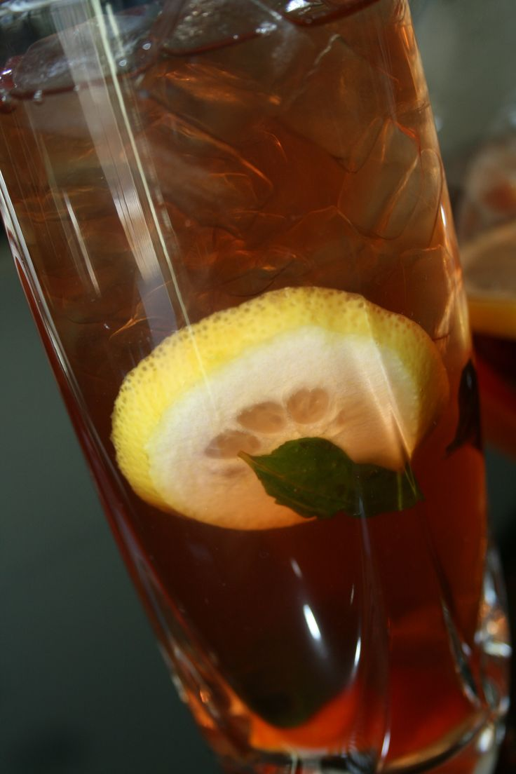 "Dr. Oz's Tangerine ""weight-orade"" recipe with a lemon twist. Said to boost metabolism 12% in one cup."