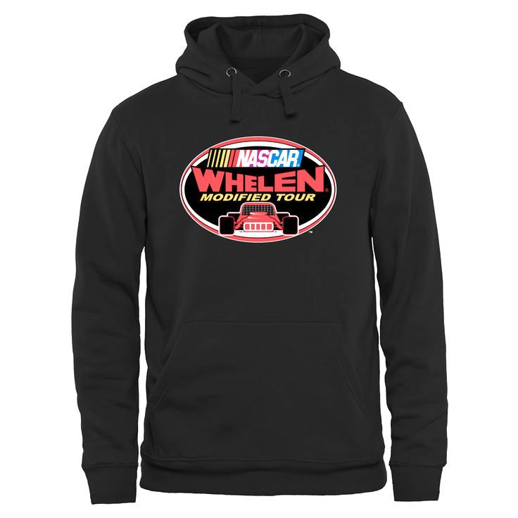 NASCAR Merchandise NASCAR Whelen Modified Tour Logo Pullover Hoodie - Black - $49.99