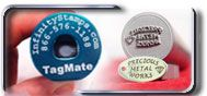 Jewelry Stamps for marking Jewelry and Precious Metals Custom Tagmate System $240. Tagmate Base $45. Tagmate Stamp $120.