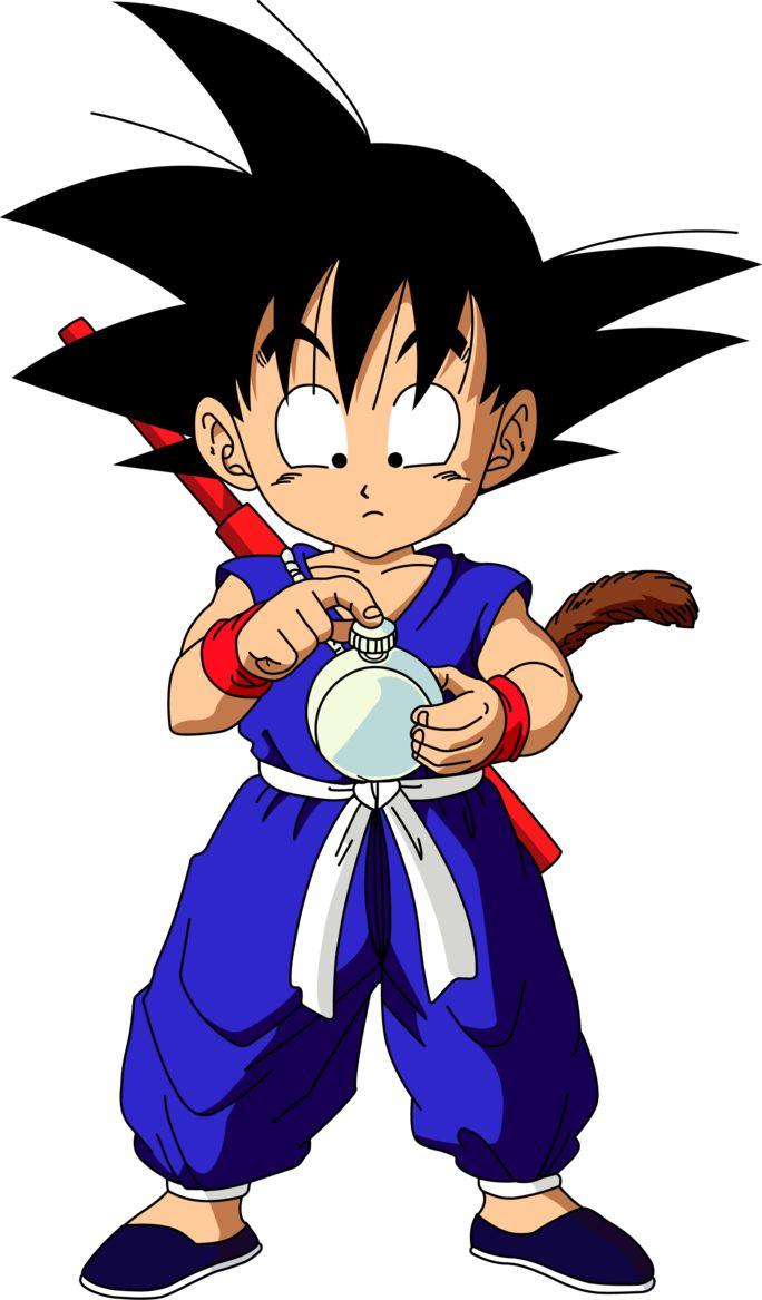 Dragon Ball - Goku pequeño