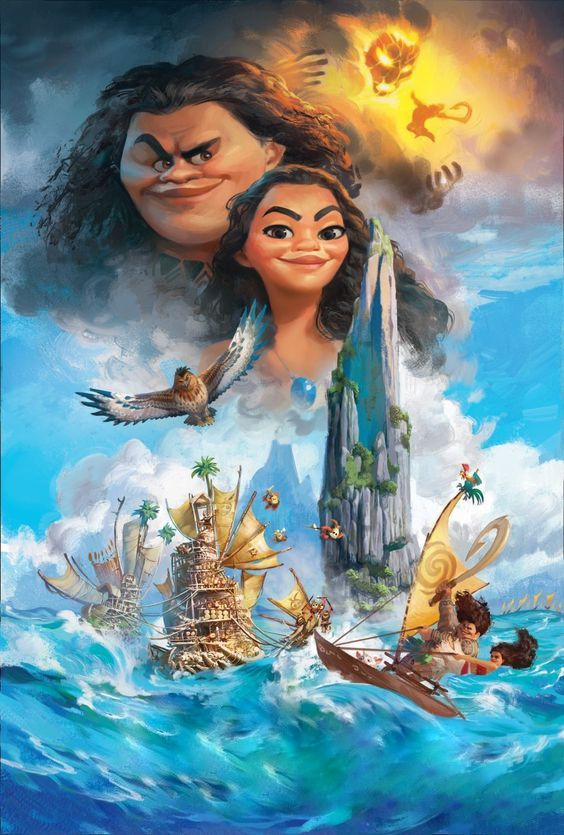 623 best Disney Princess Moana 2016 images on Pinterest ...