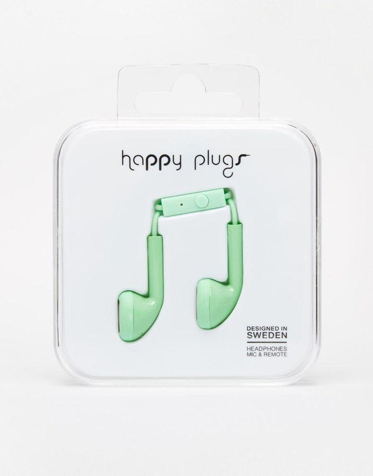 Bild 1 von Happy Plugs – Kopfhörer in Minzgrün