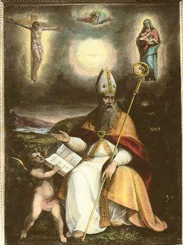 Catequesis de Benedicto XVI sobre San Agustín de Hipona