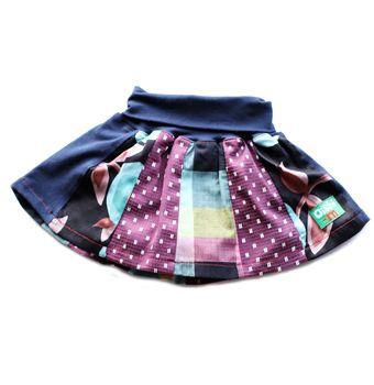 Rainbow Surprise Skirt, Oishi-m Clothing for kids, 2010, www.oishi-m.com