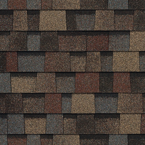 Owens Corning Roofing: Shingles - Color Comparison/ TruDefinition Duration Designer Colors Collection- Summer Harvest