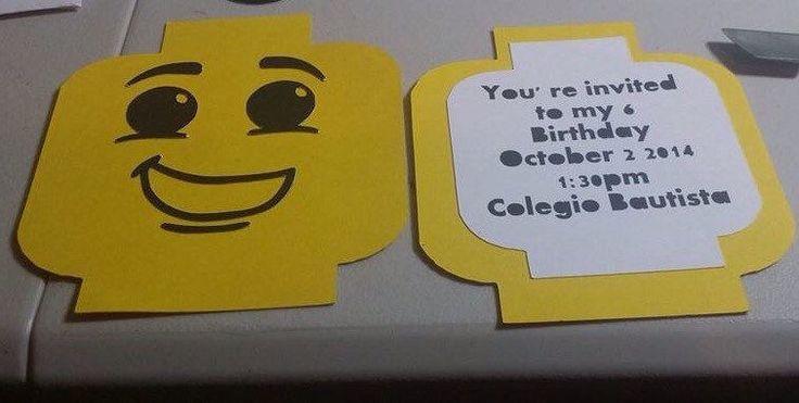 Lego Movie birthday invitation by JAZCreationsByivette on Etsy