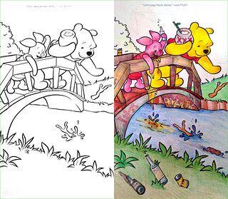 Coloring Book Corruption Hello Kitty