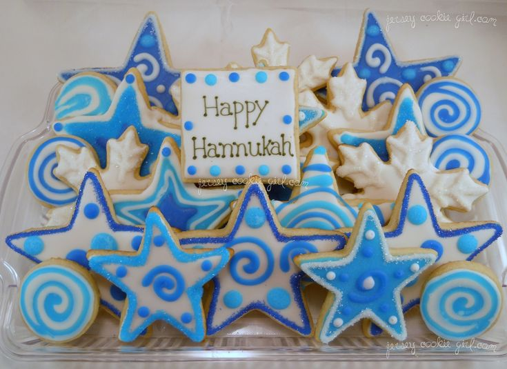 Happy Hannukah!!  Great Cookie Platter.