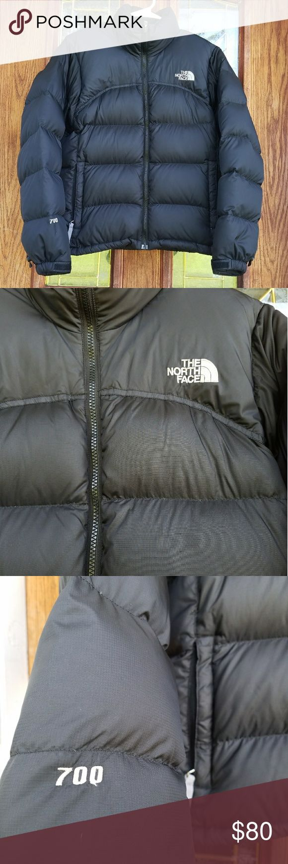 The North Face Puffer Jacket Small The North Face 700 (i think the name is Nuptse, but im not 100%) Puffee down jacket, size small. Great condition. Very small, hardly noticable grey spot on back abpve logo, not sure where it came from. This coat is so warm! The North Face Jackets & Coats