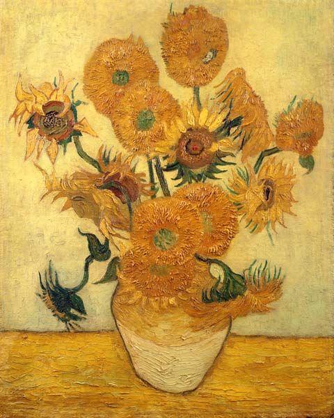 +Sunflowers+-+Vincent+Van+Gogh+