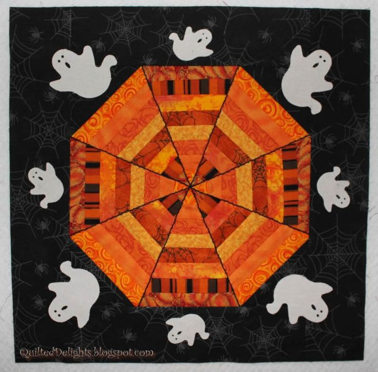 517 Best Images About Halloween Quilts On Pinterest