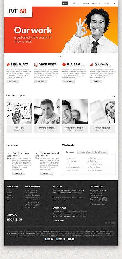 'Ive 68' WordPress 3.x Template 43455 http://zign.nl/43455