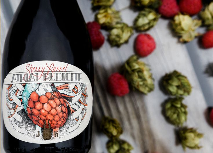 Jester King 2017 Sherry Barrel Atrial Rubicite not released due to beer being too acetic (vinegary)