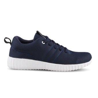 Best Shop Distro Bandung VR 358 Sepatu Kets Sneakers dan Kasual Pria -  NavyKualitas memuaskan Distro 98d0b69a29