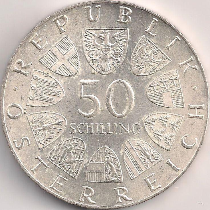 Wertseite: Münze-Europa-Mitteleuropa-Österreich-Schilling-50.00-1974-Gartenschau