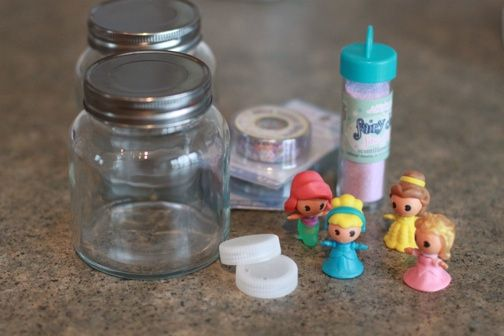 Make Your Own Snow Globes And Use Clear Silicone To Seal
