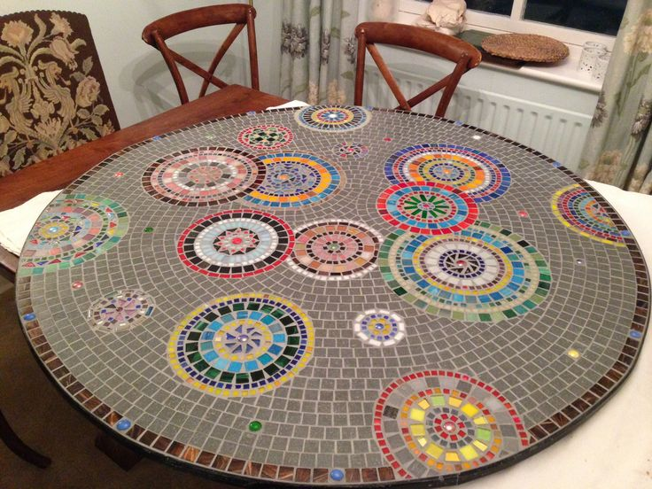 307 best images about mosaic tables countertops on pinterest mesas mosaic tiles and mosaic. Black Bedroom Furniture Sets. Home Design Ideas