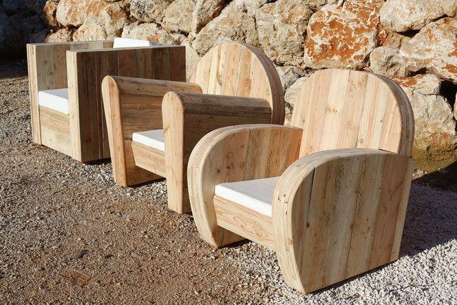 Accueil - WOOD - meuble design en bois recyclé