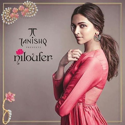 Another one Deepika for Tanishq #niloufer ❤
