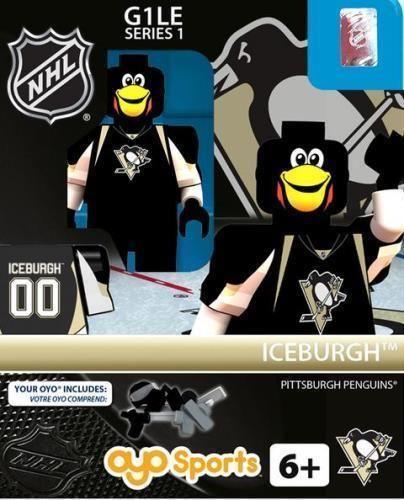 LEGO Hockey Pittsburgh Penguins | Iceburgh Mascot (Pittsburgh Penguins): Gen1 NHL OYO Minifigure | eBay