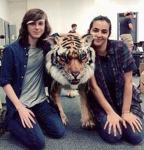 Chandler and Alana with Shiva