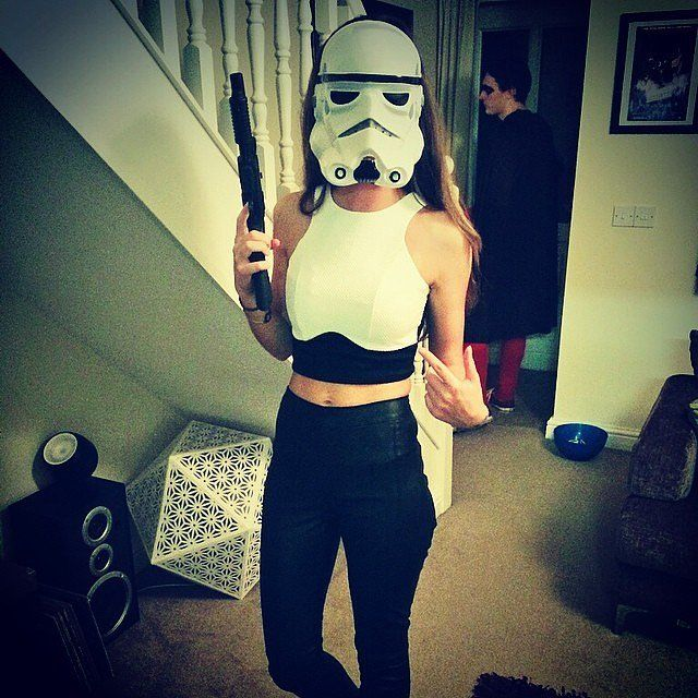 This Halloween costume proves Stormtrooper's can be sexy too!
