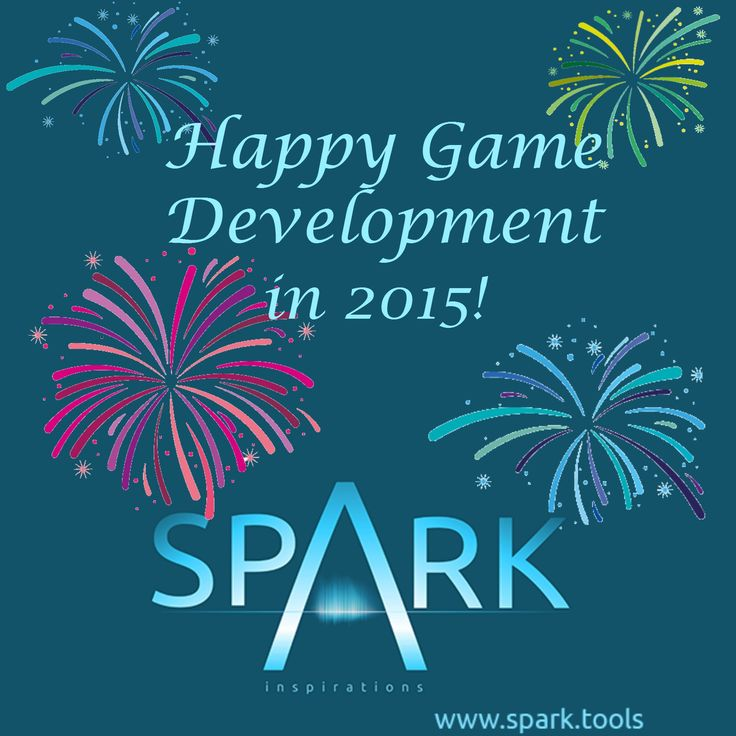 Wishing everyone a very happy, prosperous and full of #gamedev success 2015!!!