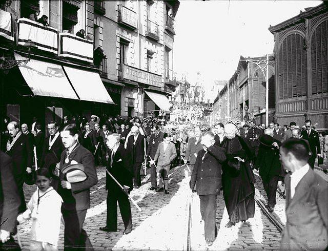 1929. La procesión de San Isidro