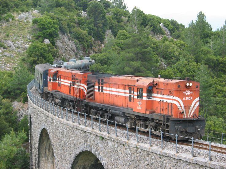 OSE Hellenic Railways_Tripoli line