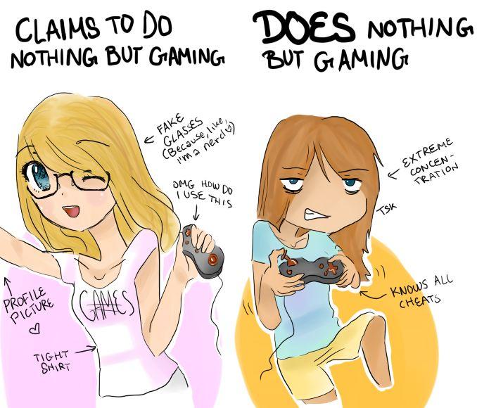 girl gamer - Google Search   Cringe