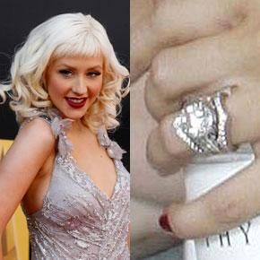 Celebrity Engagement Rings Four Carats 26