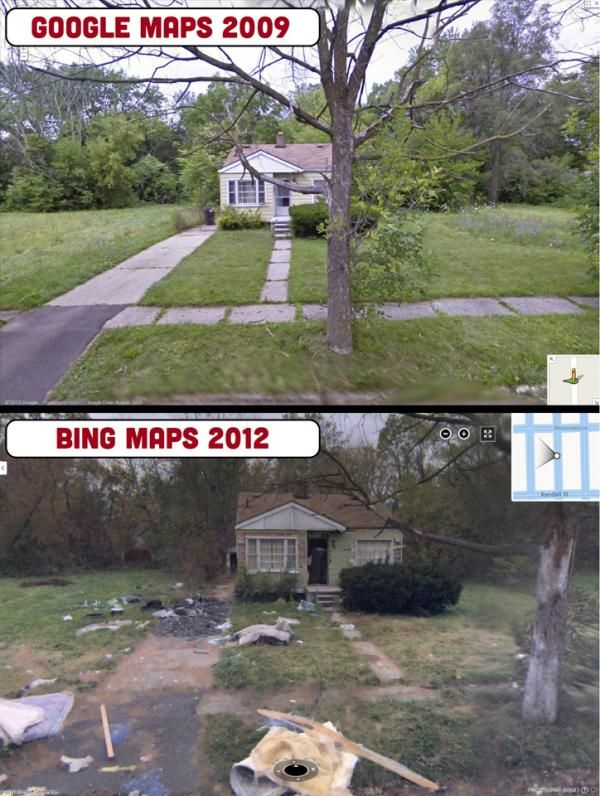 The Death And Decay Of Detroit, As Seen From The Streets | How's that economy working out for ya?