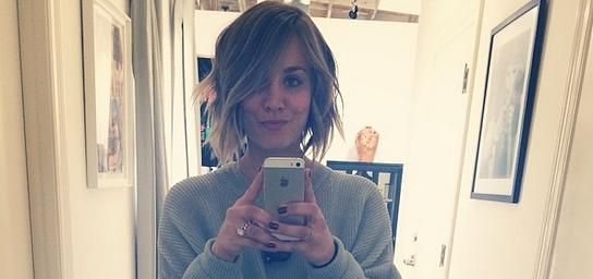 Kaley Cuoco Gets A Real Haircut After Getting A Fake One Last Month, Because Double The Attention!