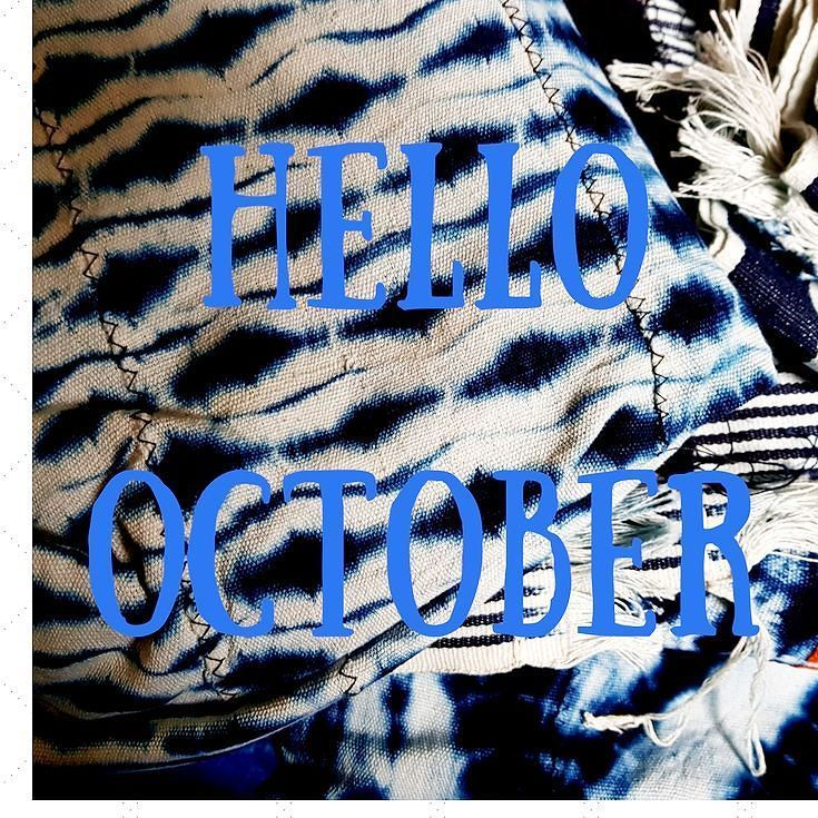 "Hello October with these stunning Baule Indigo ""Shibori""-style handwoven textiles... They are very rare to source online and are now available on the etsy shop (please click on the bio link to shop what you see and many curated textiles from Cote d'Ivoire) #hellooctober#baulethrow #baulepillow #artisan#shibori#handwoventextile#indigo#indigoshibori#africanshibori #curatedtextiles#museum#museumcurator #musee#conservateurdemusee#boutiquesdemusee#textilemuseum#ikat#organiccotton…"
