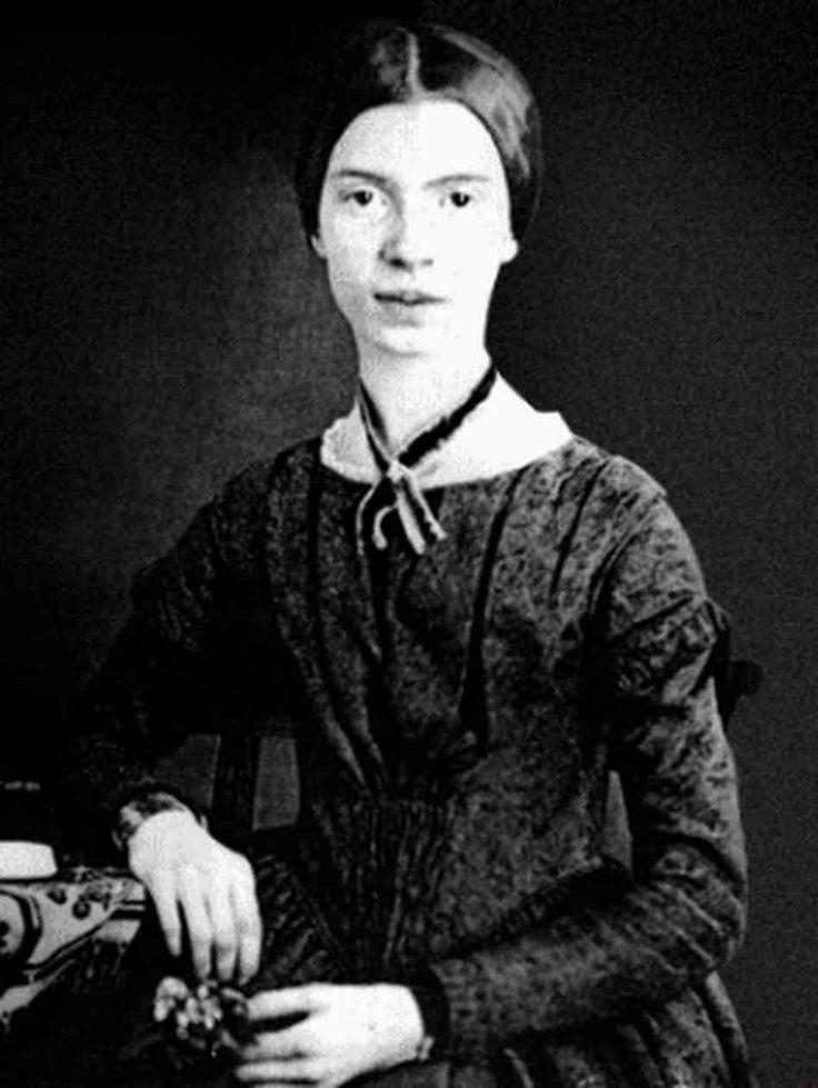 Emily Dickinson (1830 – 1886) – One of America's greatest poets Emily  Dickinson lived