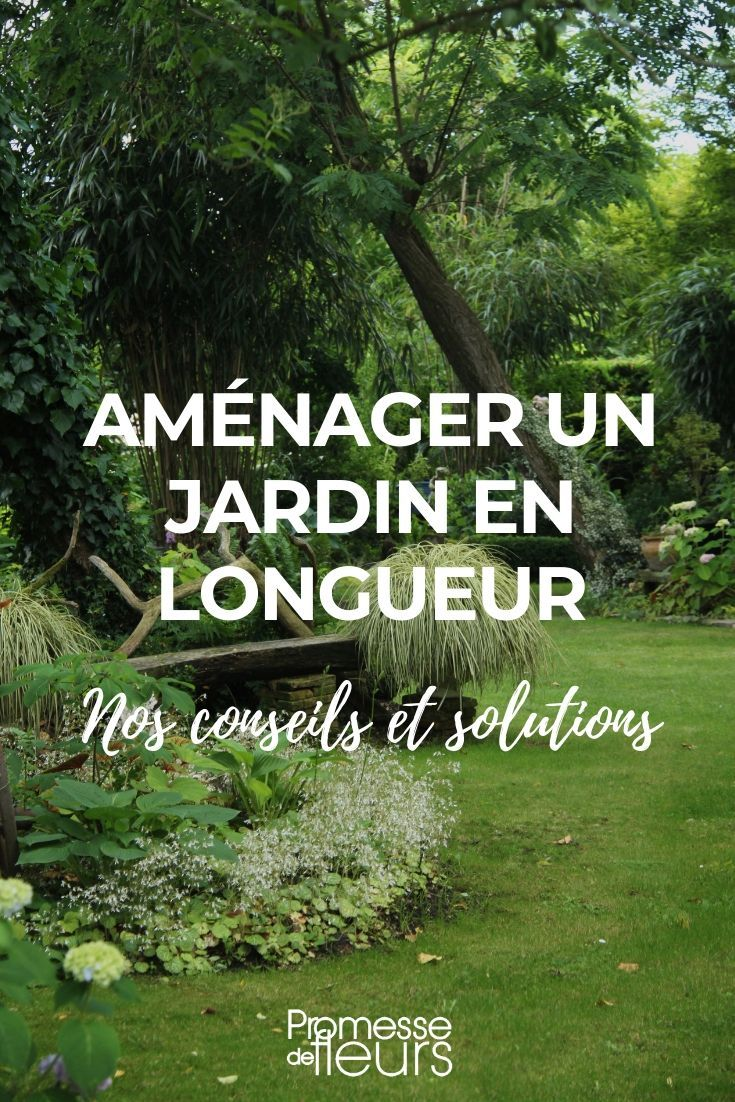Remark aménager un jardin en longueur ?