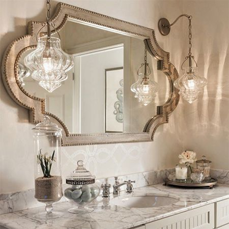 To complete the serenity theme and create a haven for relaxation add plush towels, fragrant soaps and place decorative items such as candles, pebbles, bamboo and twigs in clear glass vases. http://www.easydiy.co.za/index.php/improve/544-guest-bathroom-facelift