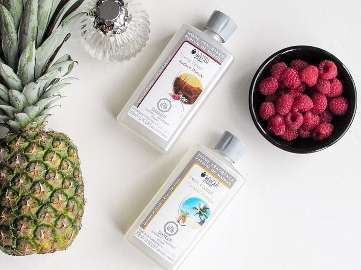 Lampe Berger Summer Scents Exotic Daring Pepper and Exotic Cocktail