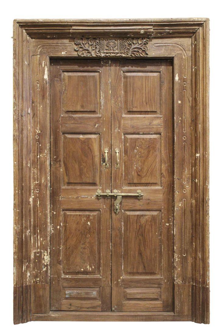 Conely   Puertas de madera, metal y forja, rústicas, artesanales. Decoración. #puertas #artesanales