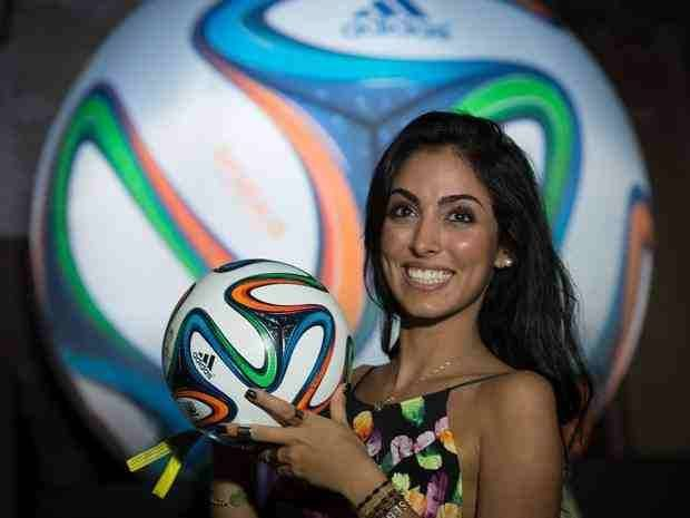 "2014 World Cup Football - ""Brazuca"" Made in Pakistan"